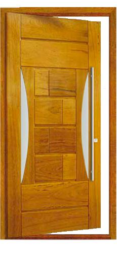 Porta Pivotante EG 550 em angelim