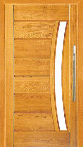Porta Pivotante Pavuna com Visor em angelim
