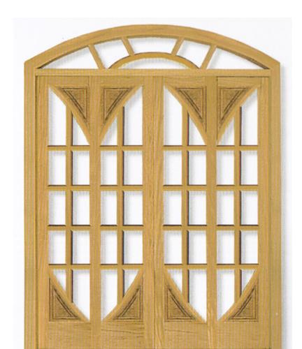 Porta Arco da Linha Folha  em Angelim pedra