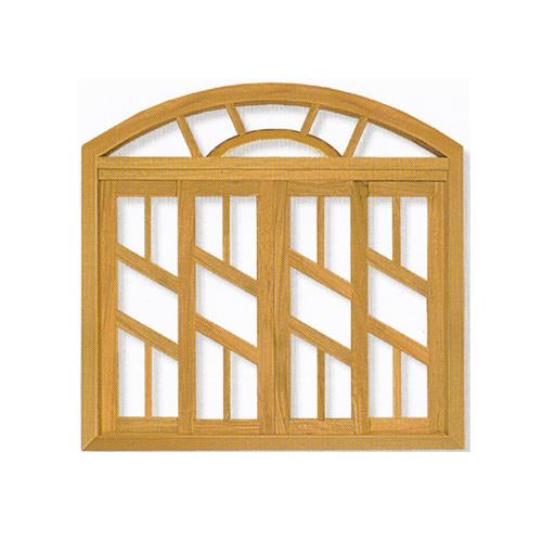 Vitro Arco Sol Linha Diagonal em Angelim